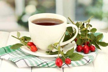čaj - asi nejznámější využití šípků
